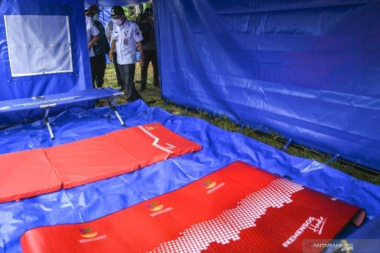 DKI lakukan tes antigen korban banjir sebelum ke posko pengungsian