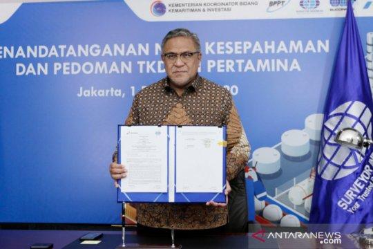 Surveyor Indonesia- Pertamina sinergi genjot TKDN proyek migas
