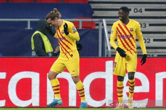 Barcelona dan Juventus serempak menang 3-0 di laga kelima Grup G