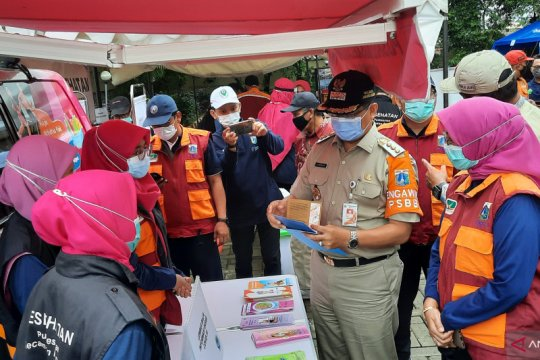 Kelurahan di Jakarta Selatan diharapkan adopsi Kampung Siaga Bencana