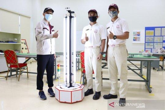 Lulusan Toyota Indonesia Academy ciptakan robot UV