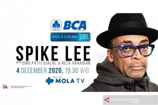 Spike Lee akan bagi pengalaman hingga bincang sinema di Mola TV
