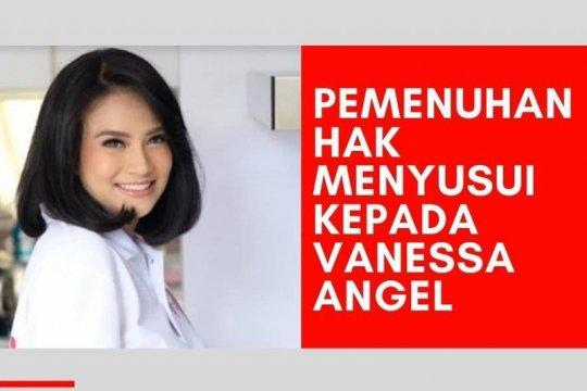 AIMI layangkan surat permohonan agar Vanessa Angel bisa menyusui