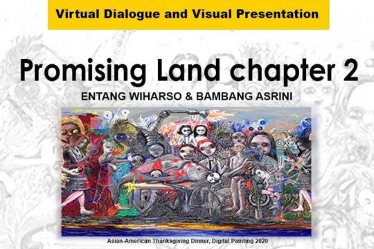 "Entang Wiharso bicara karya ""Promising Land Chapter 2"" & COVID-19"