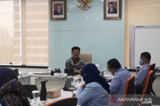 Jabat Menteri KKP ad interim, Syahrul adakan rapat koordinasi eselon