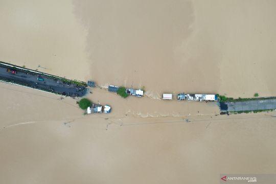 Banjir rendam jalur penghubung Purbalingga-Banyumas