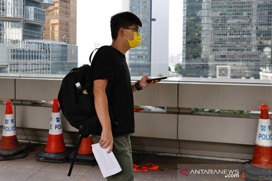 Aktivis Hong Kong Joshua Wong dituduh langgar UU keamanan nasional