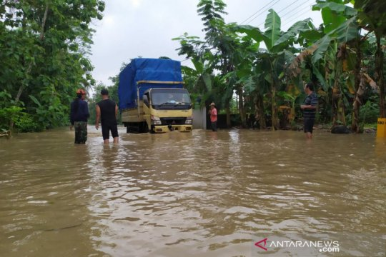 BPBD: Banjir luapan Sungai Serayu melanda sejumlah wilayah Banyumas