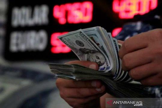 Dolar jatuh ke terendah baru 2,5 tahun saat stimulus AS jadi fokus