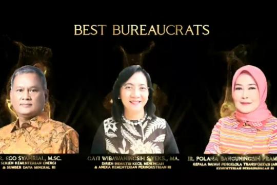 "Sekjen Kementerian ESDM sabet penghargaan ""Best Bureaucrats"" 2020"