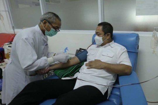 Calon Wali Kota Semarang donorkan plasma darah untuk pasien COVID