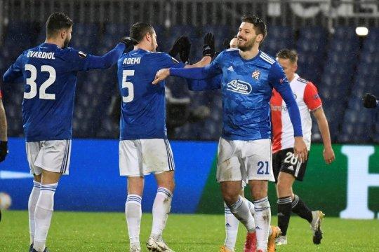 Dinamo Zagreb amankan tiket 32 besar usai pecundangi Feyenoord
