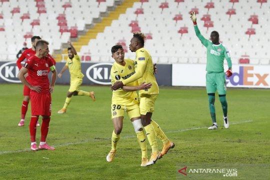 Villarreal kunci tiket babak gugur seusai menang di Sivasspor