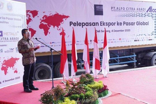 Eksportir Sumut berpartisipasi Rp3,29 triliun pada pelepasan ekspor