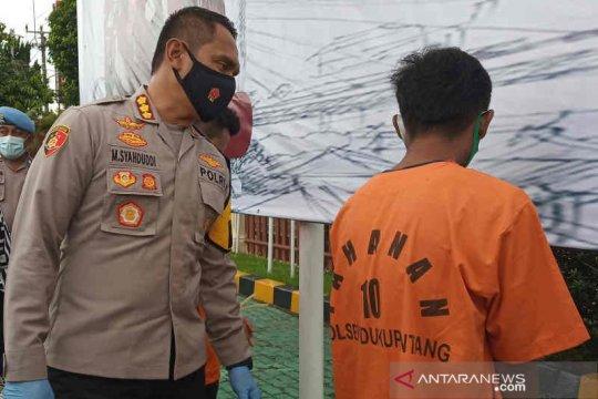 Polresta Cirebon tangkap pencuri berkat petunjuk sandal