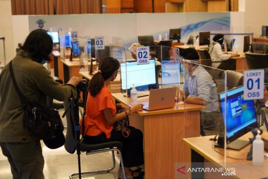 Jakarta Pusat keluarkan 1.369 perizinan hingga awal Desember 2020