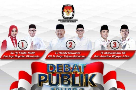 Menakar efektifitas kampanye debat publik di Pilkada Jember