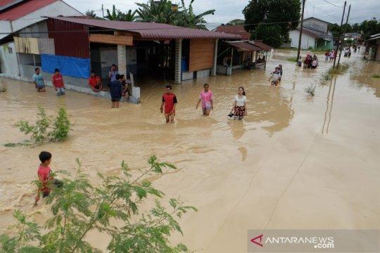 Ribuan rumah di Deli Serdang terendam banjir
