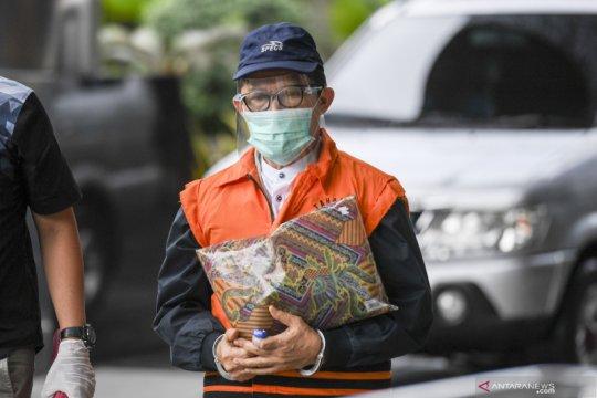 Berkas perkara Wali Kota Dumai nonaktif Zulkifli dilimpahkan