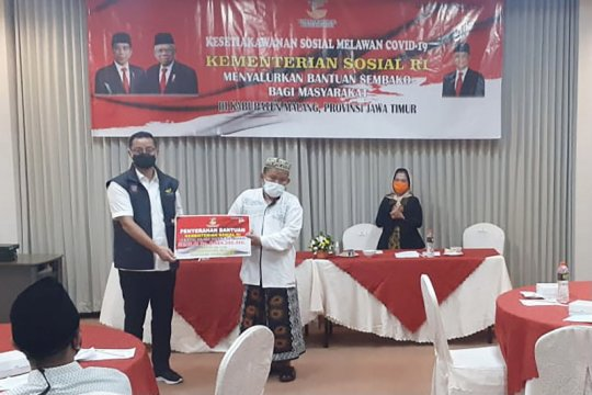 Kemensos salurkan bansos Rp2,6 miliar untuk warga Kabupaten Malang
