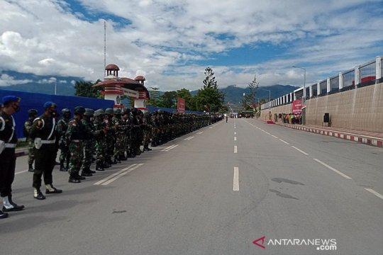 Pilkada di lima distrik Yalimo dikawal 225 polisi