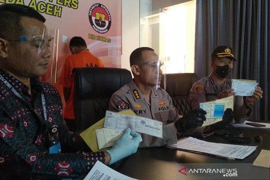 Polda Aceh ungkap penipuan jual beli mobil Rp1,35 miliar
