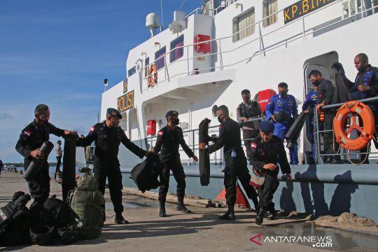 Pengamanan pilkada serentak di Asmat