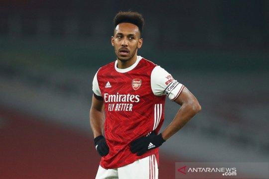 Aubameyang sarankan para pemain muda Arsenal bersabar