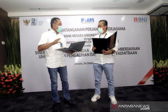 BNI-PNM sinergi penyaluran kredit UMKM pacu pemulihan ekonomi nasional