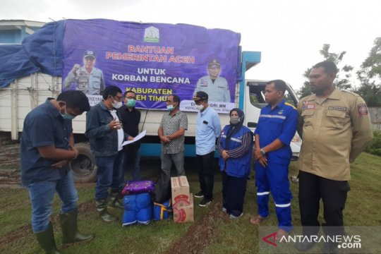 Korban banjir di Aceh Timur diberikan bantuan untuk masa panik
