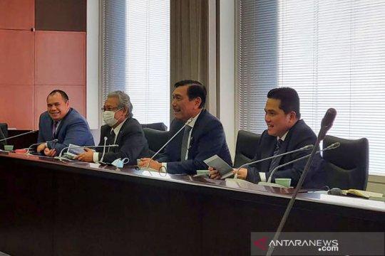 Luhut: Jepang akan investasi 4 miliar dolar untuk dukung SWF Indonesia