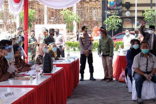 KPU batasi 10 orang pemilih di dalam TPS