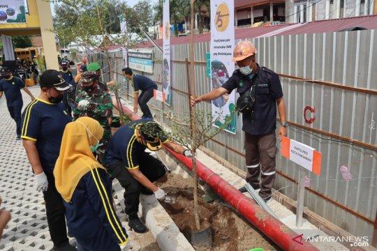 Kementerian PUPR programkan penghijauan di Pasar Pariaman