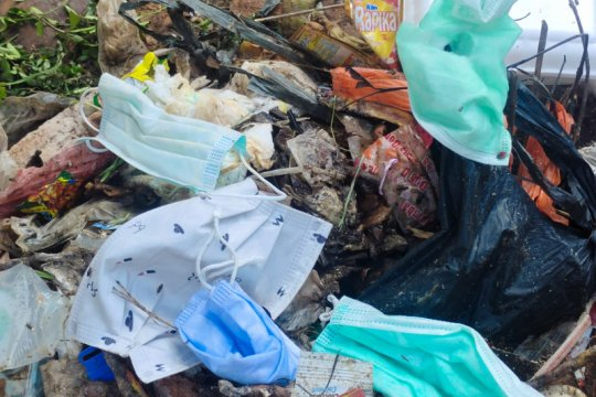 DLH Lampung catat sampah COVID-19 per September capai 2 ton
