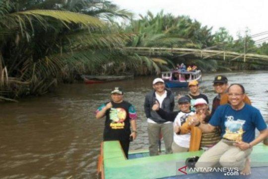 Wisata susur sungai Banjarmasin dibuka dengan protokol kesehatan ketat
