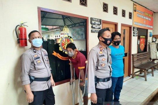 Polsek Jelutung tangkap oknum polisi pelaku pembobolan mesin ATM
