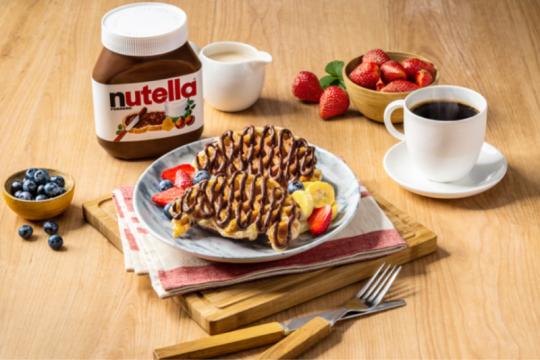 Menu serba cokelat, Nutella buka pop-up cafe di sekitar Jakarta