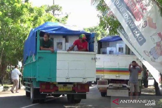 KPU Ngawi distribusikan logistik Pilkada 2020