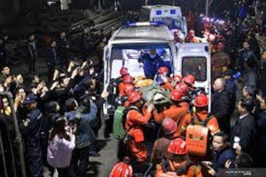 Tim SAR China selamatkan sembilan orang yang terjebak di tambang emas