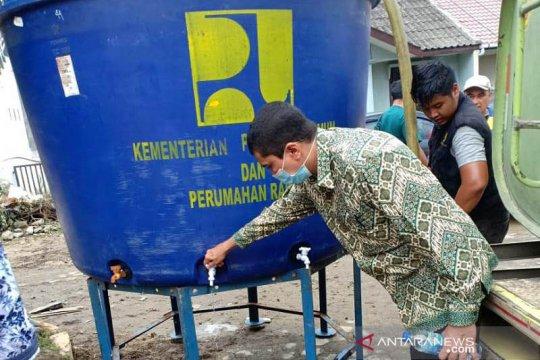 Posko air bersih disiapkan PDAM Tirtanadi bagi warga terdampak banjir