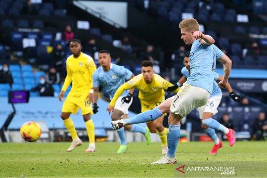 Manchester City terobos empat besar selepas bungkam Fulham