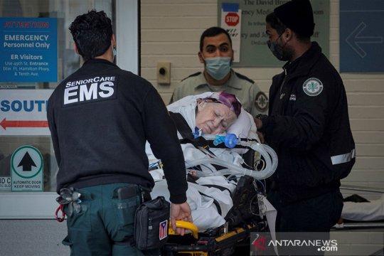 Kewalahan COVID, ambulans LA tidak untuk pasien kecil harapan hidup