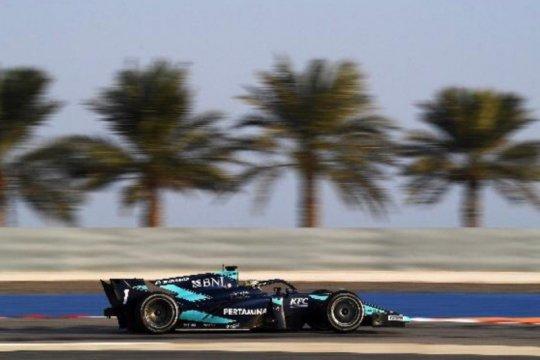 Sean Gelael akhiri balapan Formula 2 dengan finis di depan sang juara