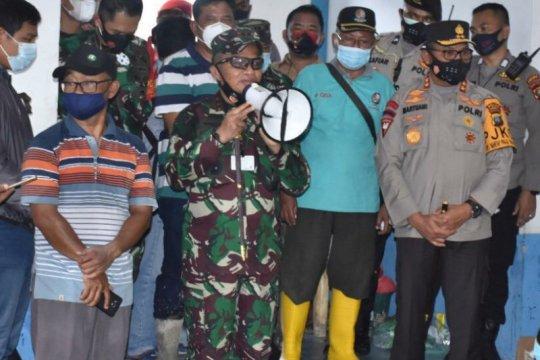 Pangdam beri semangat korban banjir Medan-Deli Serdang
