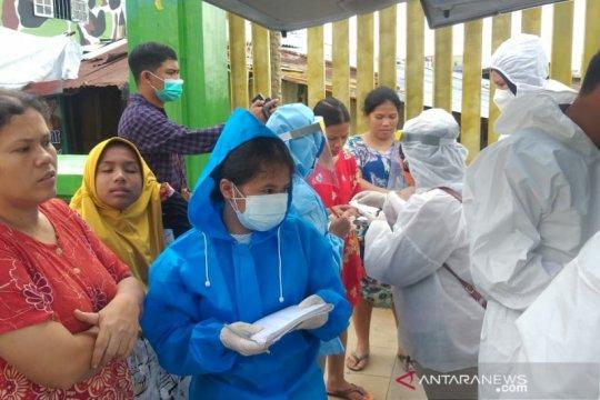 Warga Medan korban banjir dapat pengobatan dari Puskesmas