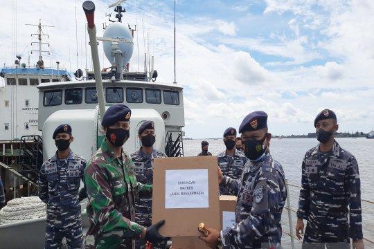 KRI Mandau-621 jaga perairan Kalimantan Selatan selama Pilkada