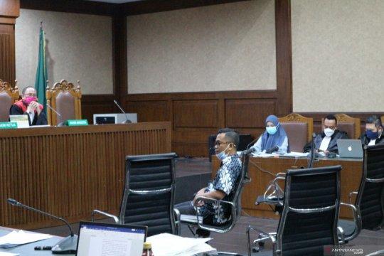 Andi Irfan Jaya ceritakan awal perkenalan dengan jaksa Pinangki