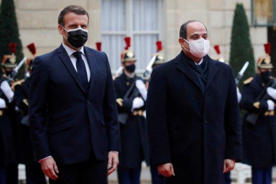 Presiden Mesir tekankan upaya pembangunan kembali Jalur Gaza