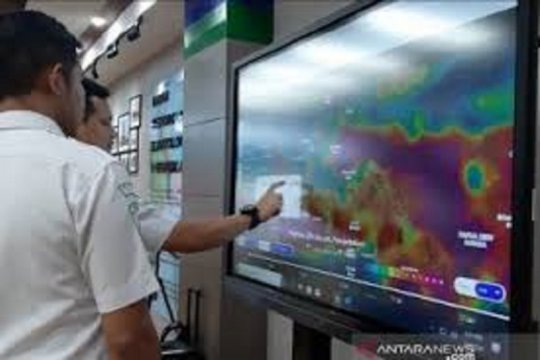 Selasa, empat wilayah Jakarta diguyur hujan