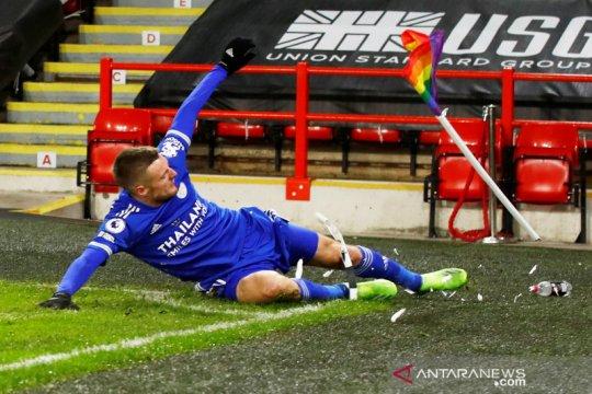 Vardy dan Maddison kemungkinan absen saat Leicester lawan Stoke City